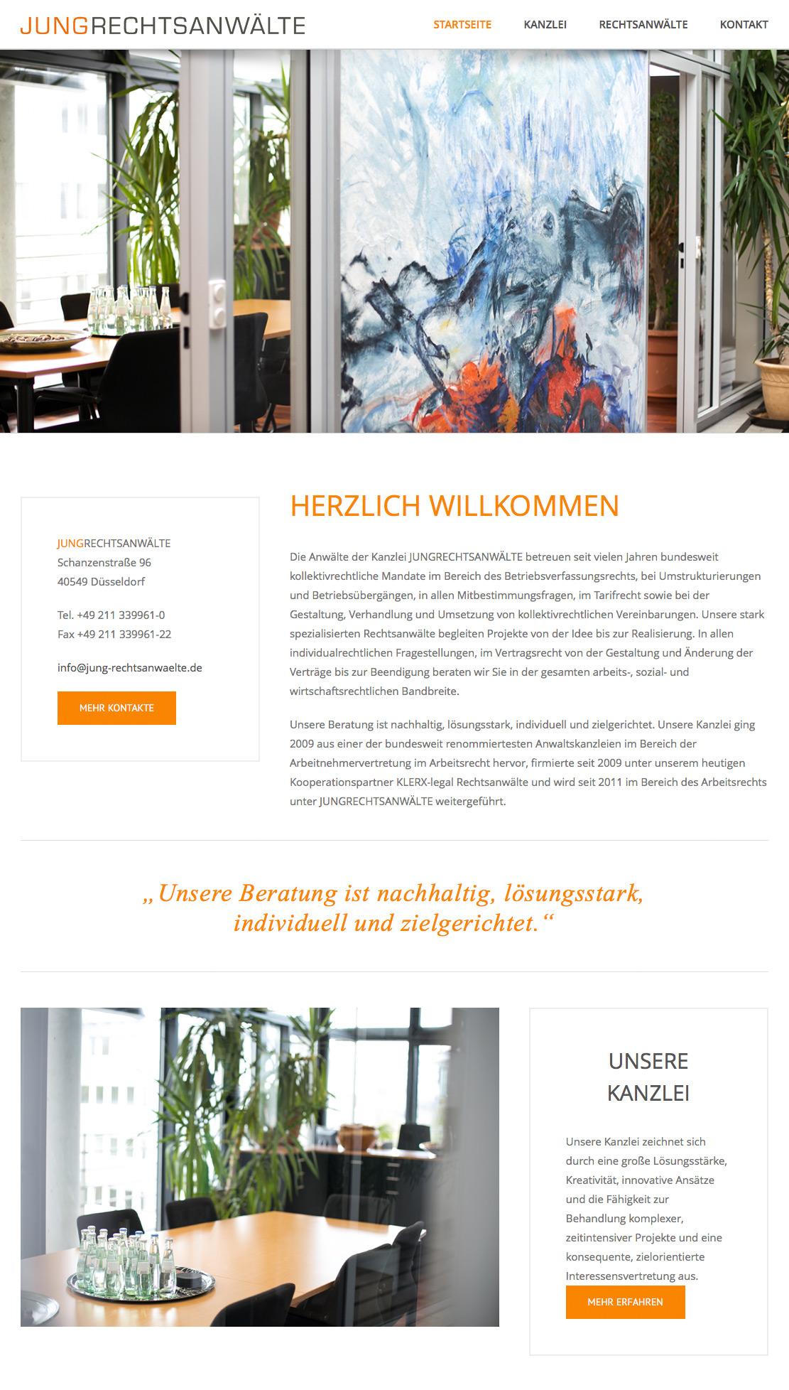Webdesign by Onelio Werbeagentur Düsseldorf