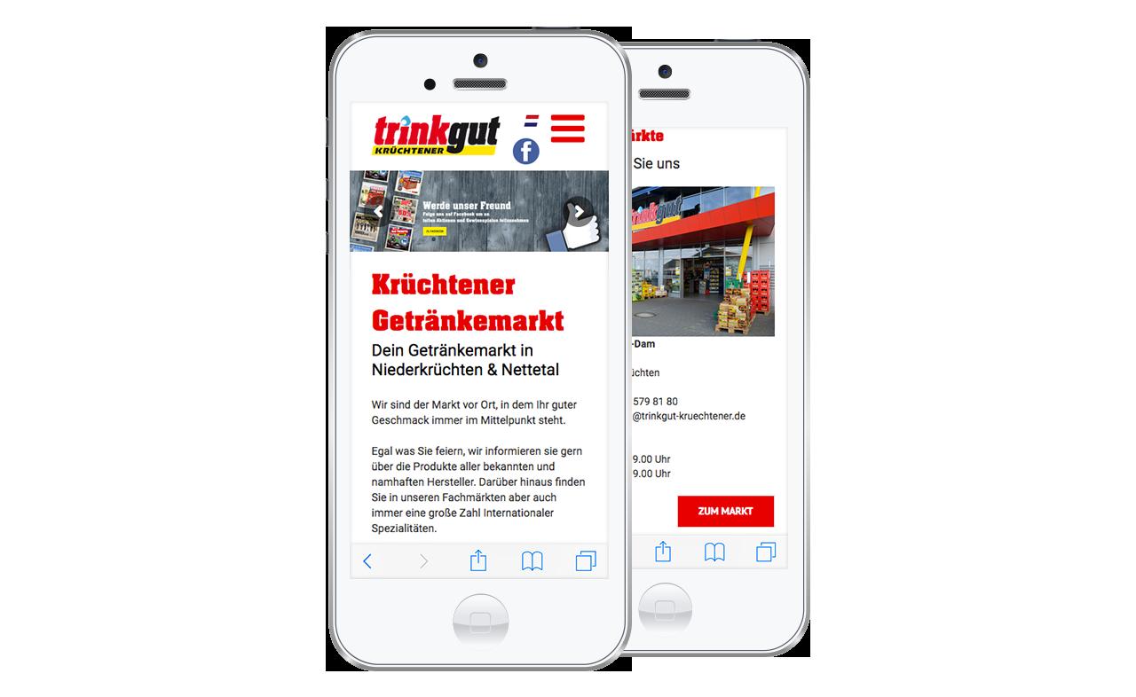 Responsive Webdesign made by Onelio Werbeagentur Düsseldorf