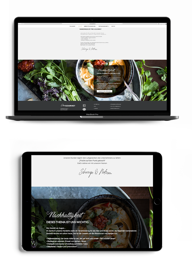 Responsive Webdesign made by Onelio