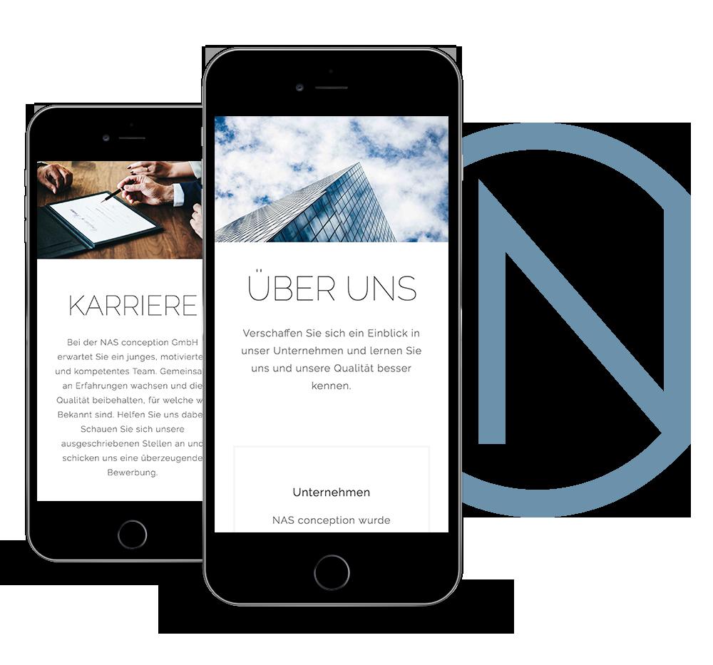 Responsive Webdesign - made by Onelio Werbeagentur Düsseldorf