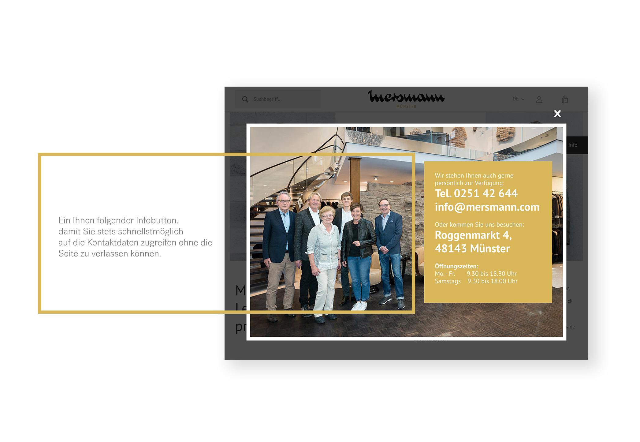 UX Design für Mersmann Onlineshop - Made By Onelio Werbeagentur