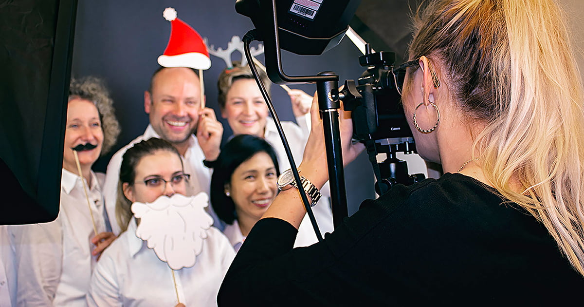 Behind the Scenes: Fotoshooting beim Kunden