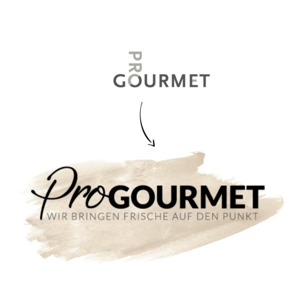 Logoentwicklung: Neues Logo für ProGourmet made by Onelio Werbeagentur Düsseldorf