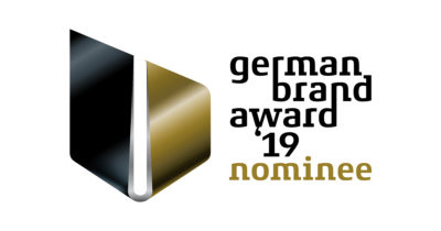 Wir sind für den German Brand Award 2019 nominiert!